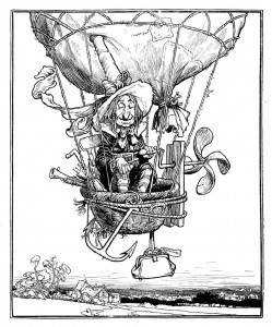 By William Heath Robinson (books) [Public domain], via Wikimedia Commons http://commons.wikimedia.org/wiki/File%3ARobinson(WH)-('Uncle_Lubin').jpg
