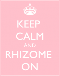keep calm rhizome